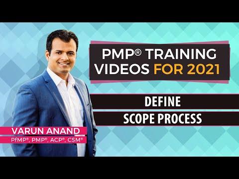 PMBOK 6 Edition Videos -Scope Management - Define Scope Video -4 (2018)