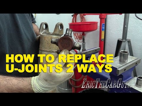 How To Replace U-Joints 2 Ways