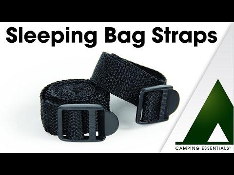 Camping Essentials: Sleeping Bag Straps