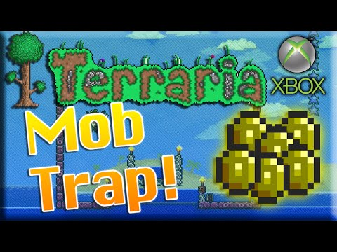 Terraria Xbox 360 - How to Build a Mob Trap!