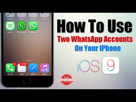 How To Use Two WhatsApp Accounts On Your iPhone Without Jailbreak