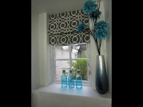 A simple roman blind by Debbie Shore