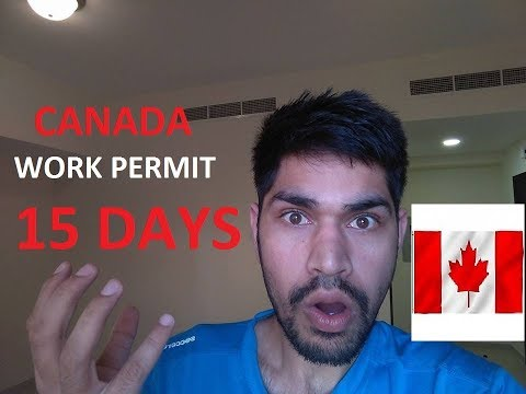 100% Work Permit In 15 Days Canada