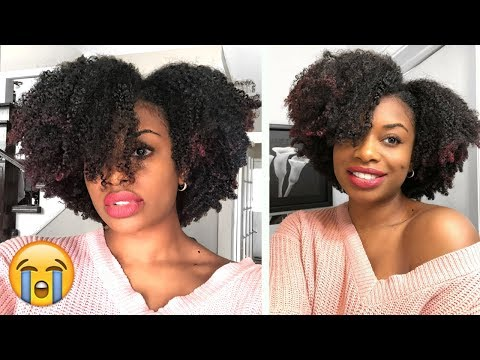 WHY DIDNT ANY ONE TELL ME ABOUT THIS! MY BEST NATURAL HAIR WASH AND GO + DIY DEVA CUT