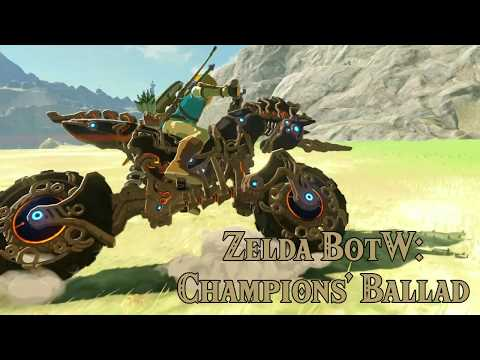 [Champions' Ballad] Zelda DLC 2! ENDLESS STREAM Day 14 in Zelda Breath of the Wild Nintendo Switch
