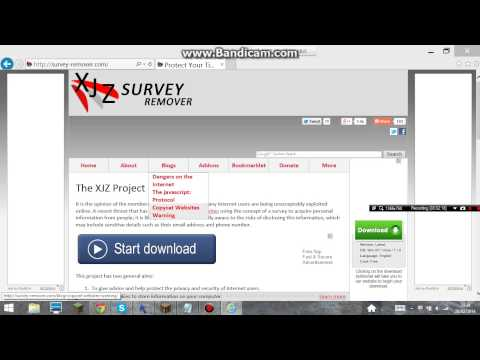 how to remove surveys 2014 no download