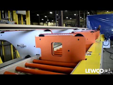 Gentle Handling of Aluminum Product on LEWCO Conveyor