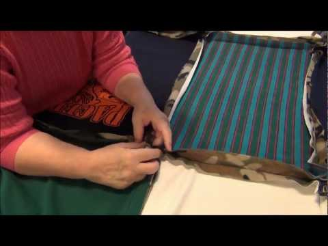 How To Make A T-Shirt Rag Quilt