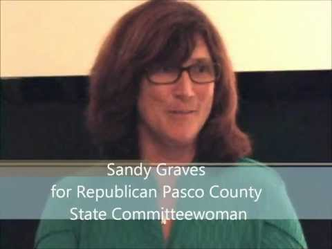 Sandy Graves for State Committeewoman Republican Pasco County election 2012 candidate voting