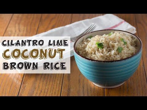Cilantro Lime Coconut Brown Rice