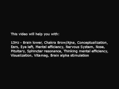 Brain, Alpha stimulation (Isochronic Tones 13 Hz) Pure Series