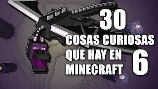 30 cosas curiosas que hay en Minecraft - Parte 6