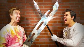 Whose Weapons Are Better? (Ft. Chad Wild Clay)