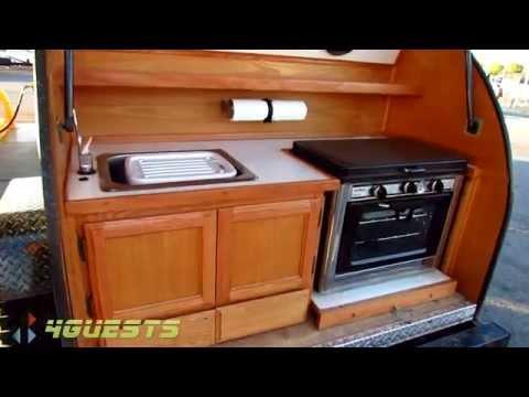 Homemade Camper Trailer ~ Mini Teardrop