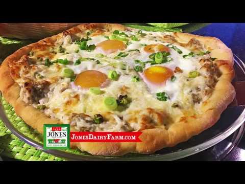 Sausage & Gravy Breakfast Pizza