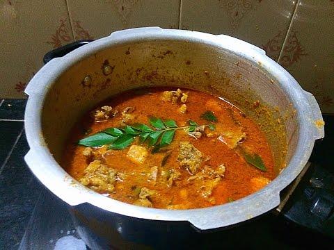 Easy and Perfect Chicken Curry in Pressure Cooker കുക്കർ കോഴി കറി