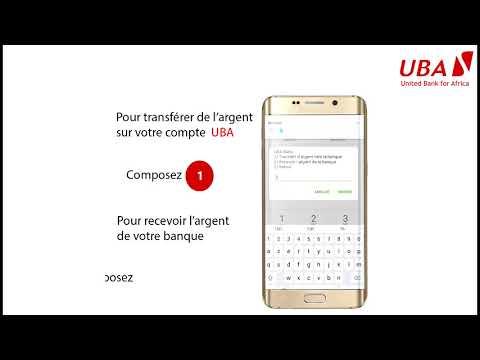 Utiliser votre Mobile Money avec votre compte UBA
