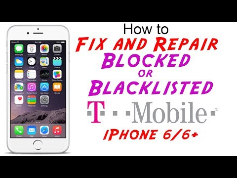 Fix/Repair T-Mobile Blocked or Blacklisted IMEI Cleaning for iPhone 6 & iPhone 6 Plus