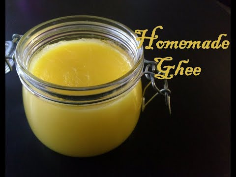 Smooth and aromatic ghee