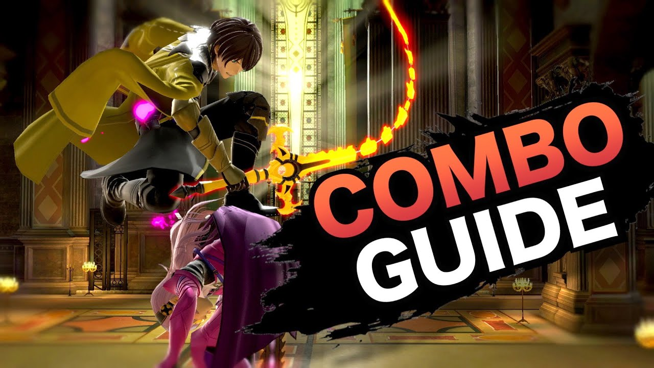 Smash Bros Ultimate- Byleth Combo Guide (How to Play Byleth)