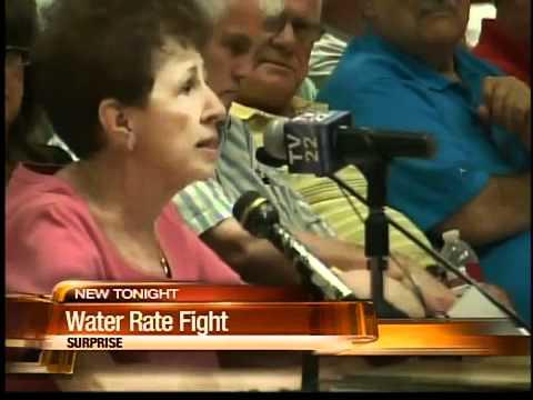 Water rate battle boils in Sun City