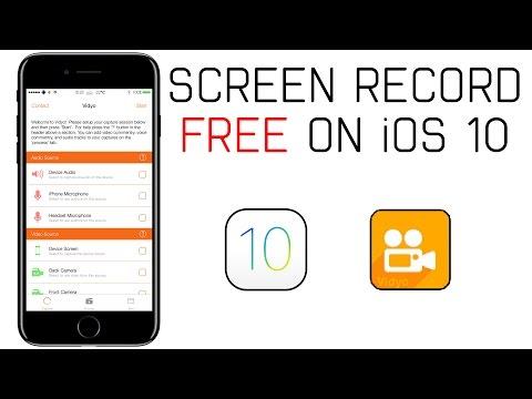 How to Screen Record iOS 10 (NO COMPUTER) (NO JAILBREAK)