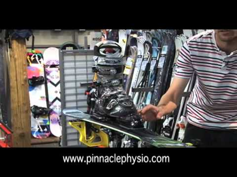 Correct Ski Binding Fitting
