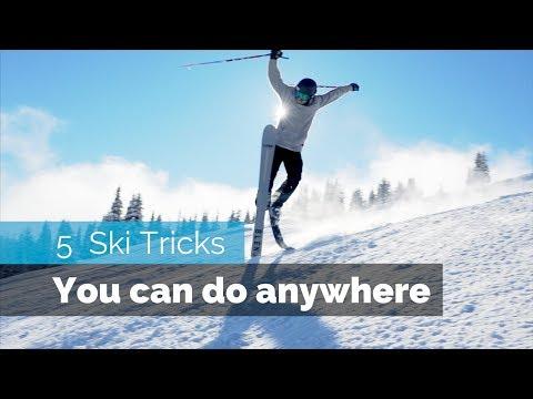 5 EASY SKI TRICKS | YOU CAN DO ANYWHERE