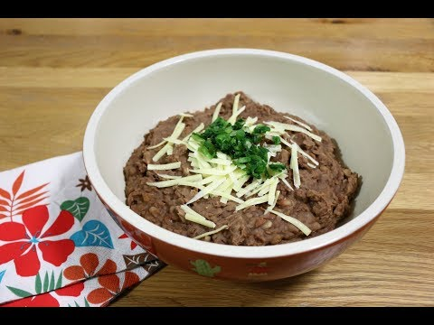 Easy Mexican Refried Beans Instant Pot Recipe / Tim's Tasty Treats