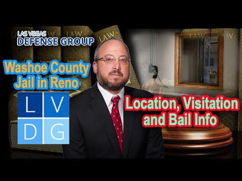 Washoe County Jail in Reno, Nevada: Location, Visitation, and Bail info