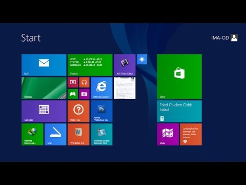 Windows 8 New feature