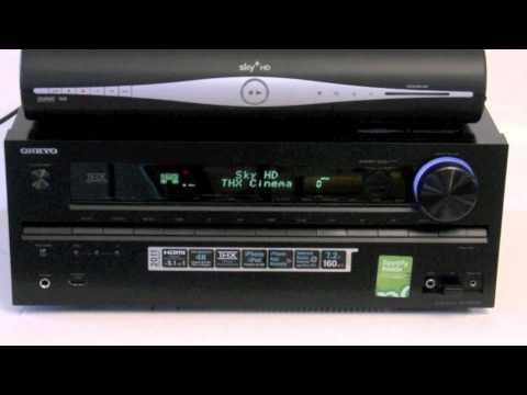 ONKYO AVR AV Home Cinema Receiver - Installing Sky+HD