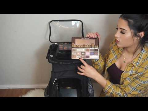 Whats In My Professional Makeup Kit? Zuca Bag, Essentials, Cheap Alternatives Etc.