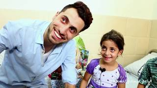 كيف فاجئ الفنان محمود شراب طفلة مريضه من مدينة رفح