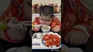 Chinês gordinho comilão