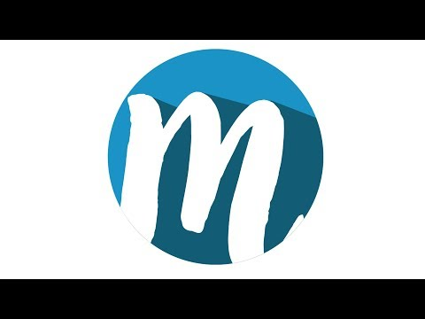 How to make a M logo in Photoshop 7.0 In Hindi / Urdu.