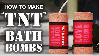 "How To Make A ""TNT"" BATH BOMB"