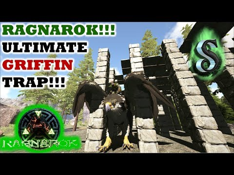 HOW TO BUILD: RAGNAROK ULTIMATE GRIFFIN TRAP - EASY & SIMPLE - ALL-IN-1 GRIFFIN TRAP - ARK 2017