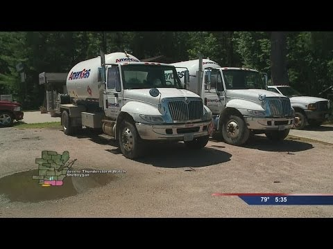 Propane users urged to fill tanks this Summer
