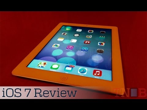 iOS 7 Review for iPad