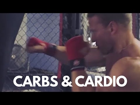 CARBS  AND CARDIO - A DAY in the life mitch gosling BODYBUILDING