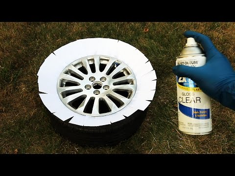 How to Repair Rims with Curb Rash or Scratches