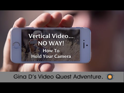 How to Hold Your iPhone For Video