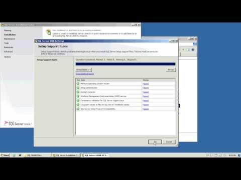 SQL Server 2008 R2 - Installation step by step