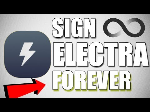 How to Resign Electra Jailbreak App Ipa Without Computer✔  Sign electra Forever   ios 11