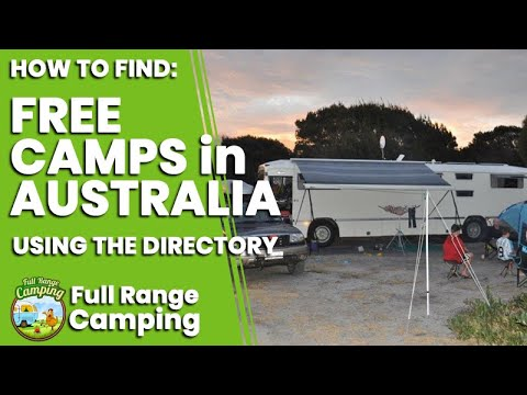 How To Find Free Camps In Australia Using Free Range Camping Web Directory