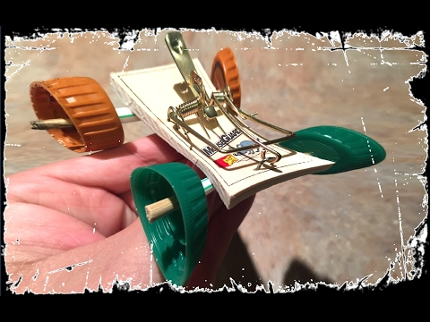 Awesome Homemade Life Hacks MAKE A MOUSETRAP CAR