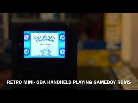 Retro Mini GBA-How to Install Gameboy & Gameboy Color ROMS on your Retro Mini GBA Handheld!