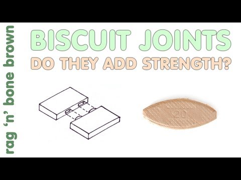 Testing Biscuit Joint Strength - Do Biscuits Add Strength To A Glue Joint?