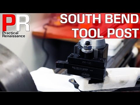 South Bend Quick Change Tool Post Upgrade!